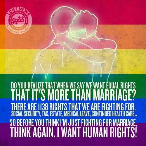 Gay Marriage: More Than Just Wanting to Wear the Ring